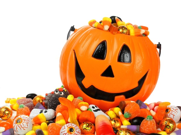 What happens when you indulge in Halloween candy?