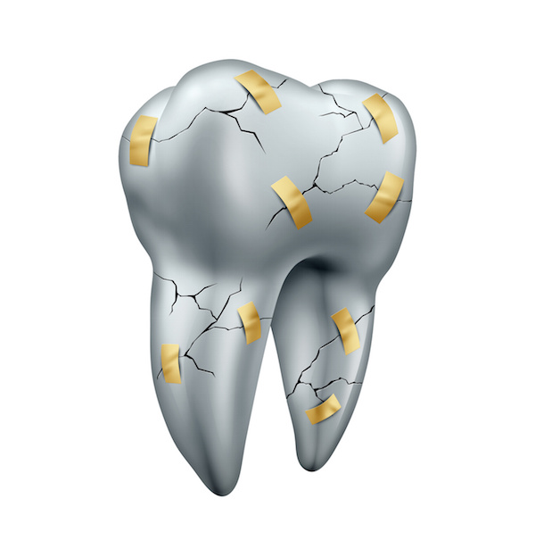 Nanostructure of dentin stops teeth from cracking